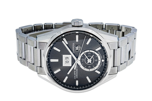 Tag Heuer WAR5012 Carrera GMT Calibre 8 Stainless Steel Watch
