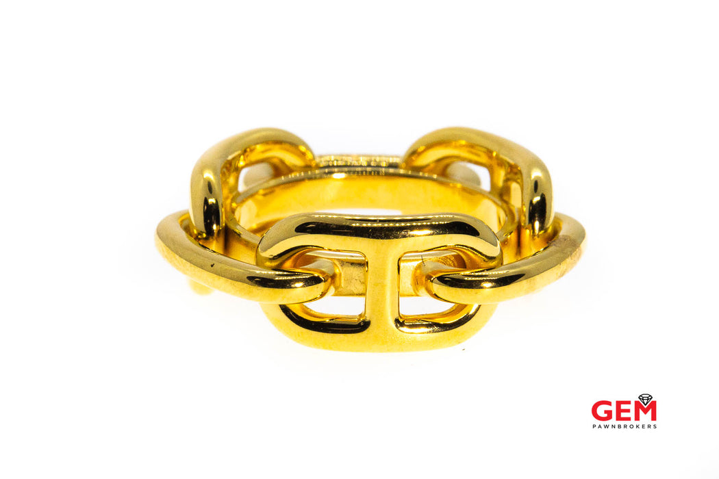 Hermes Permabrass Regate Scarf Band Chaine D'Ancre Gucci Link Ring