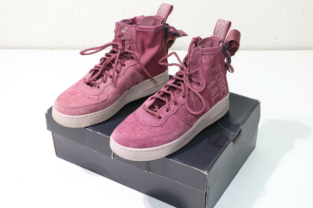 "Nike Air Force 1 Mid ""The Force Is Female"" Vintage Wine AJ1698-600 Size 7.5"