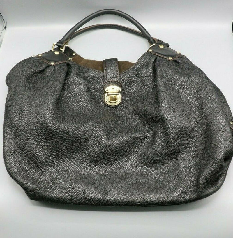 Vintage Louis Vuitton Mahina XL Purse Black (TH4037) (2007)