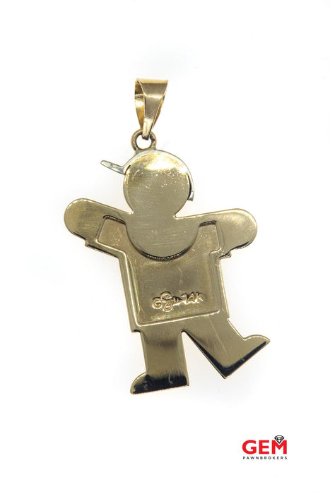 Shane 14 KT Yellow Gold Boy Child Charm