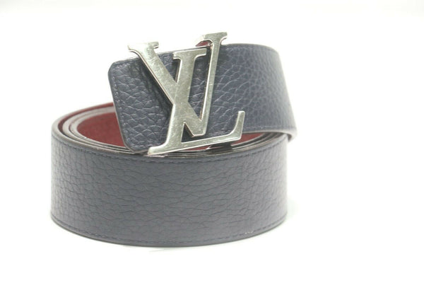 Louis Vuitton: Belt LV initials reversible - Red/Navy - M9411 Sz:85/34
