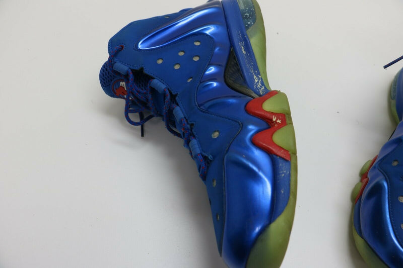 Nike Charles Barkley Posite Max Sixers 76ers Energy Fire Blue Sz 9.5 555097-300