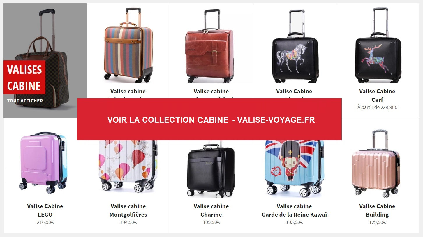 Collection Valise cabine