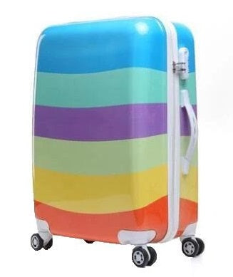 Valise Bandes multicolore