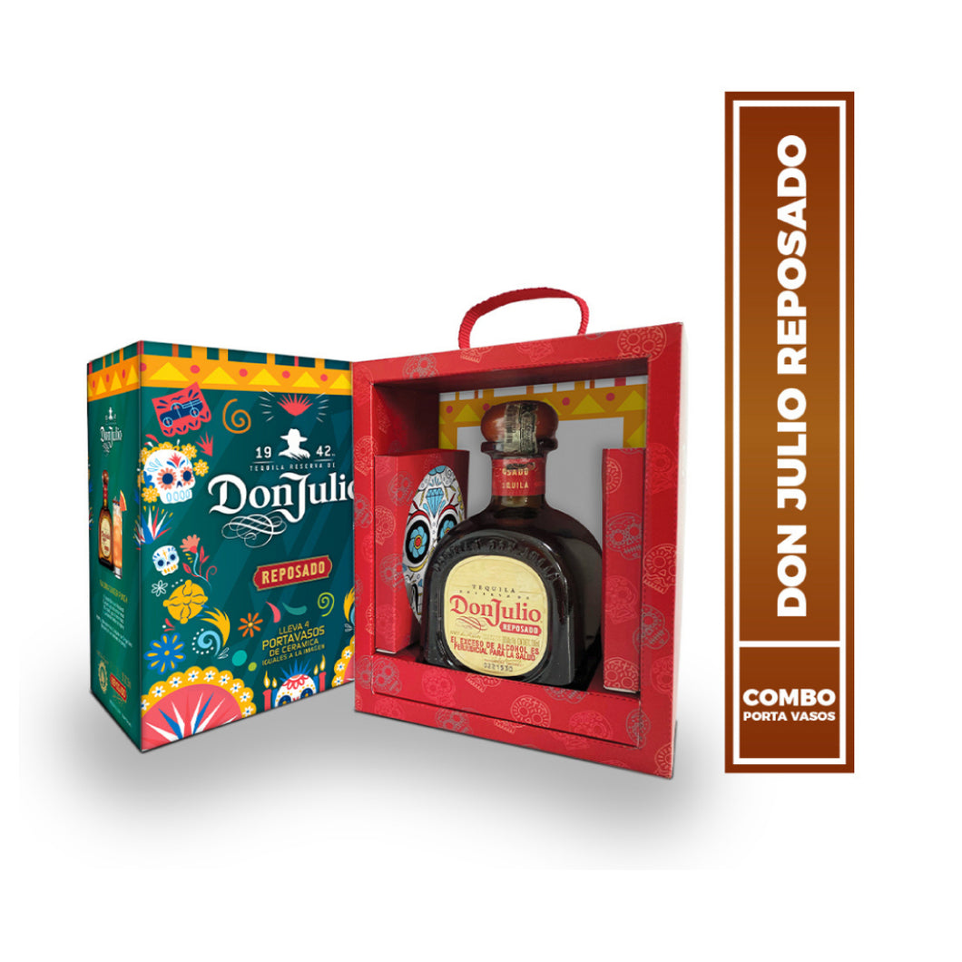 Pack Tequila Don Julio Reposado + Portavasos