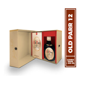 Pack Whisky Old Parr 12 años + 500 ml