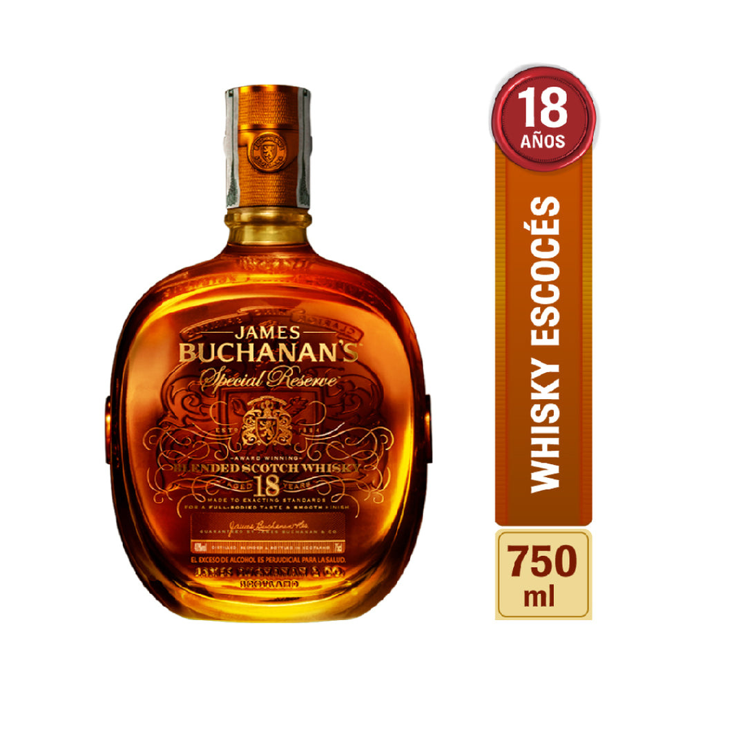 Whisky Buchanan´s Special Reserve 18 años