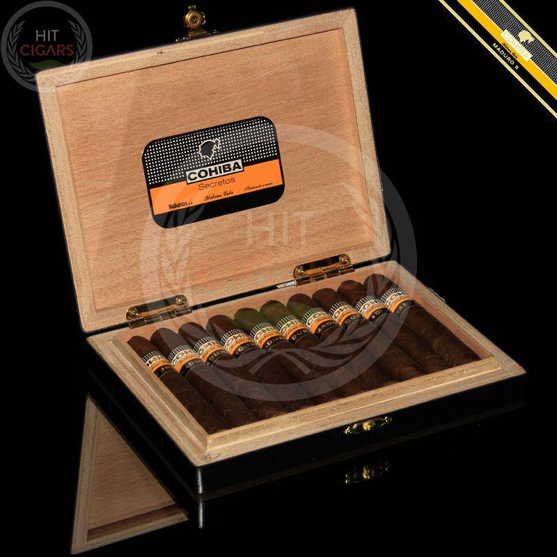 Cohiba Maduro 5 Secretos (Box of 10) - HitCigars