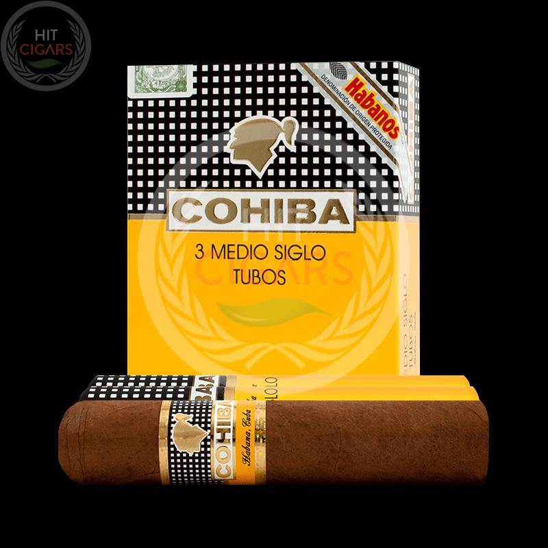 Cohiba Medio Siglo Tubos (5x3 Packs)
