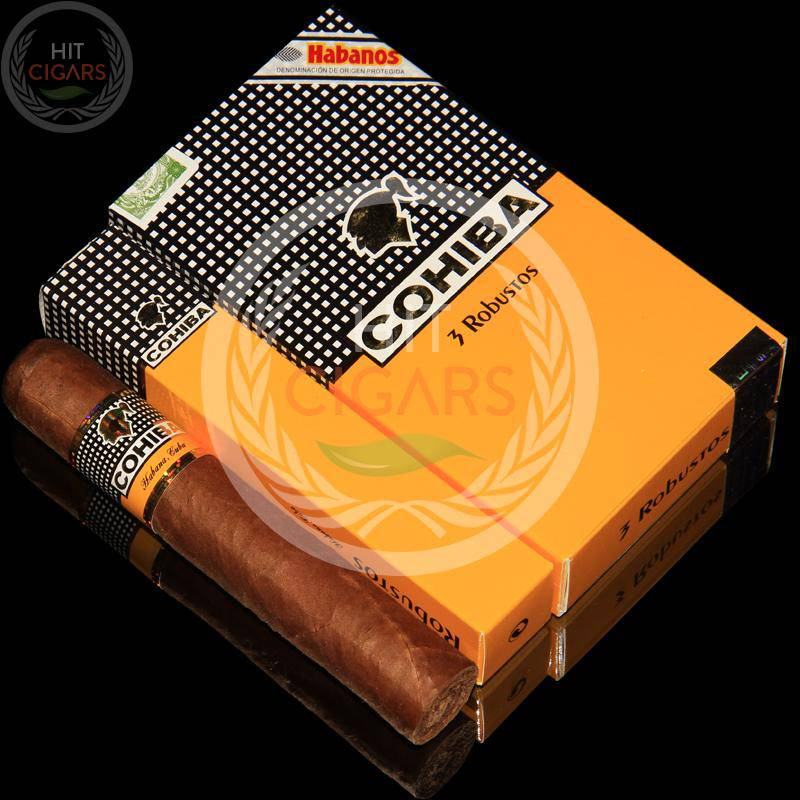 Cohiba Robustos (5x3 Packs) - HitCigars