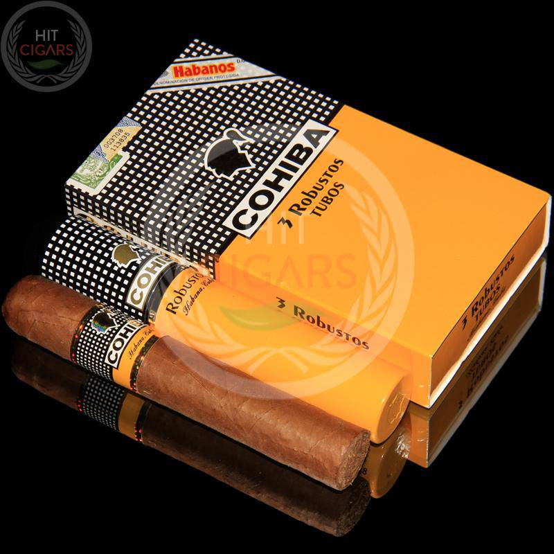 Cohiba Robustos Tubos (5x3 Packs) - HitCigars