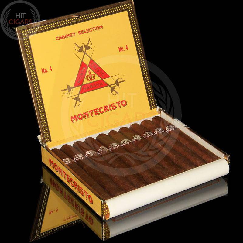 Montecristo No.4 (Box of 10) - HitCigars