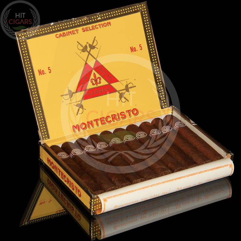 Montecristo No.5 (Box of 10) - HitCigars