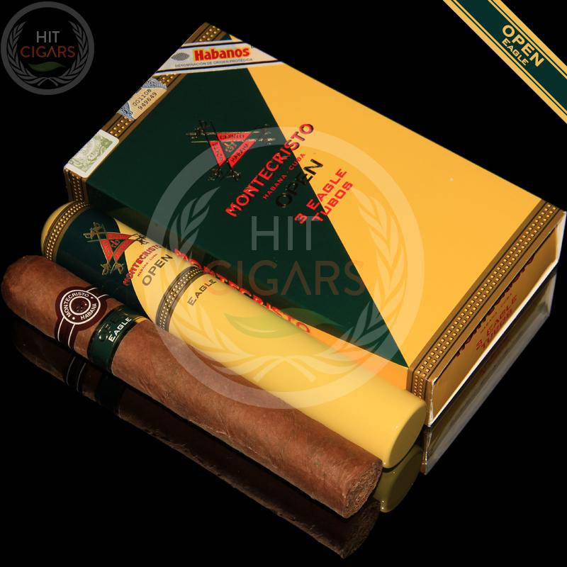 Montecristo Open Eagle Tubos (5x3 Packs) - HitCigars