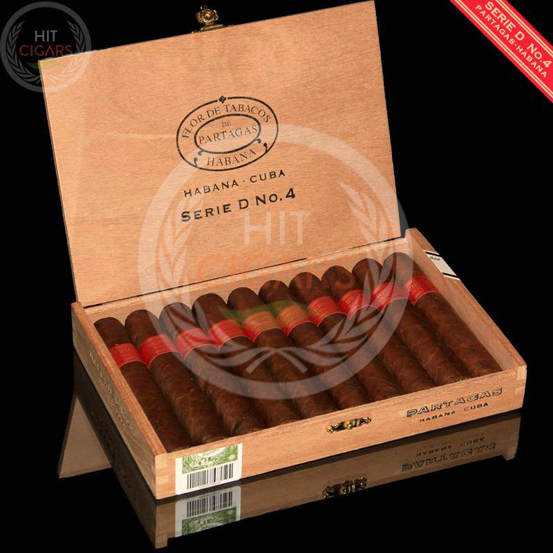 Partagas Serie D No.4 (Box of 10) - HitCigars