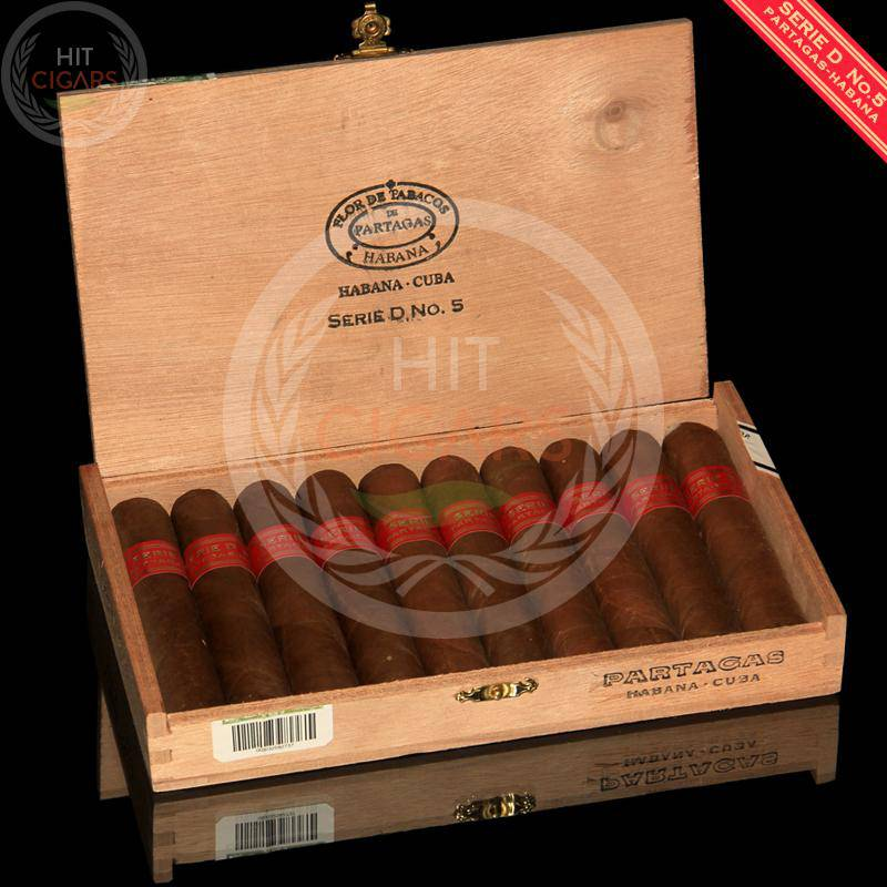Partagas Serie D No.5 (Box of 10) - HitCigars