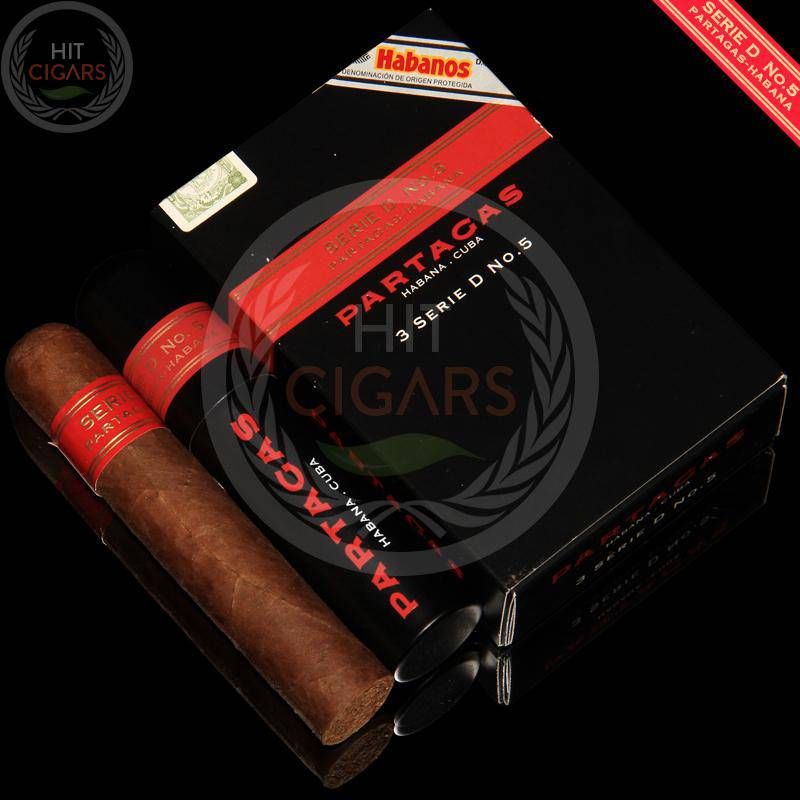 Partagas Serie D No.5 Tubos (5x3 Packs) - HitCigars
