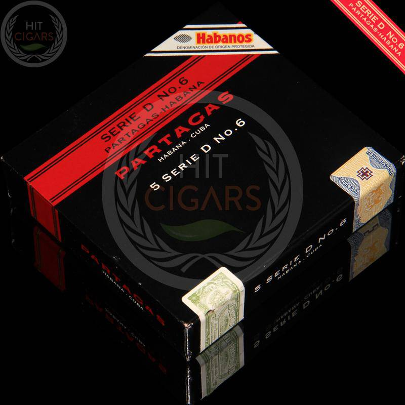Partagas Serie D No.6 (5x5 Packs) - HitCigars