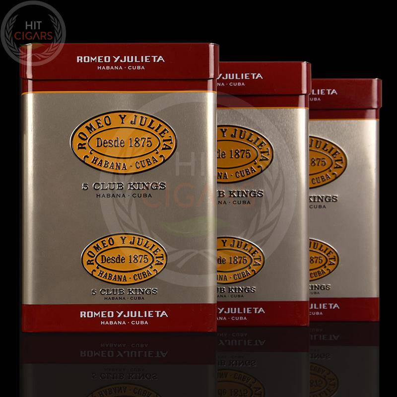 Romeo y Julieta Club Kings (10x5 Blikken) - HitCigars