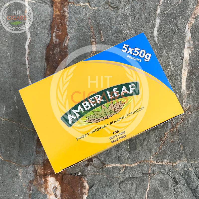 Amber Leaf 50g Original (5x50g) - Duty Free Price