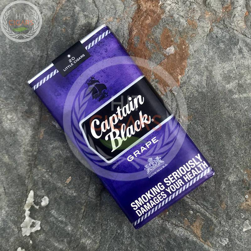 Captain Black Grape Little Cigars - HitCigars