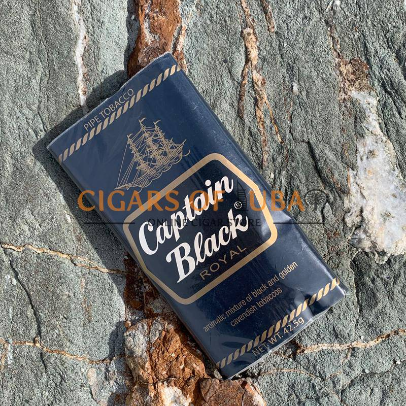 Captain Black Royal Pipe Tobacco - HitCigars