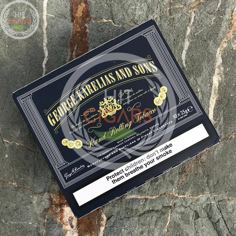 George Karelias Dark Blue 25g (10x25g) | Duty Free Price