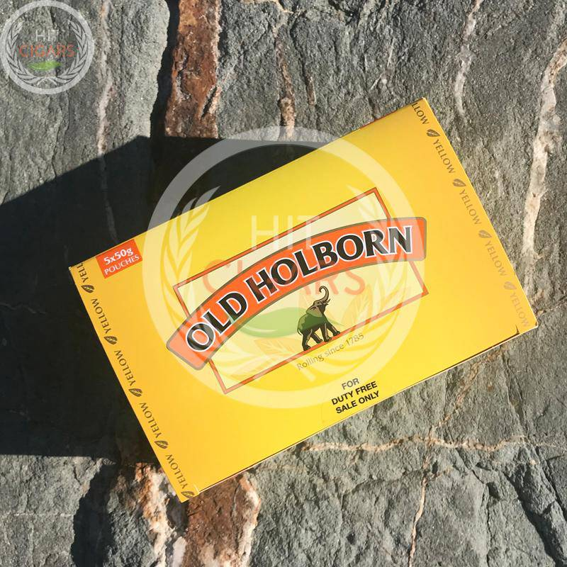 Old Holborn Yellow 50g (5x50g) | Duty Free Price