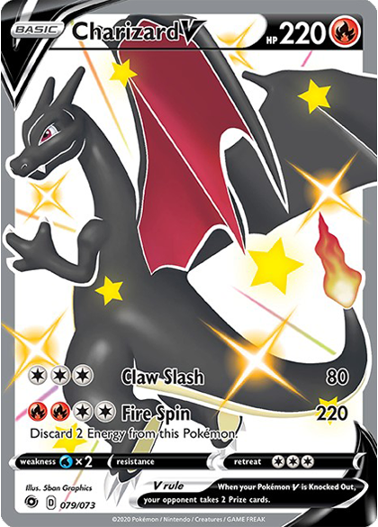 Shiny V Charizard