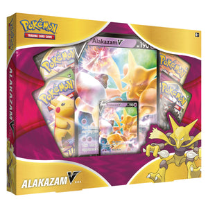 Pokemon Sword & Shield Vivid Voltage | Alakazam V Box