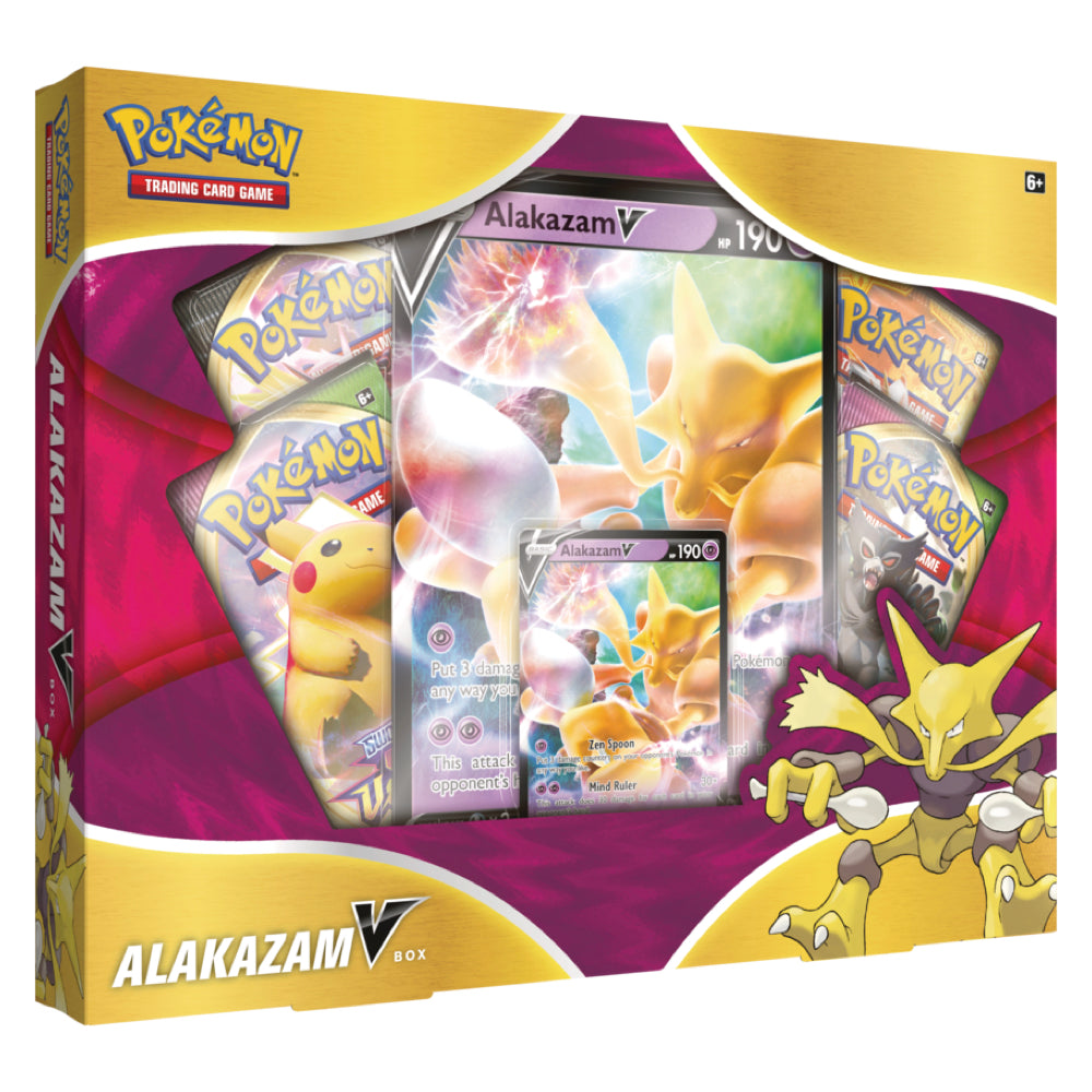 Pokemon Sword & Shield Vivid Voltage | Alakazam V Box | Pre-Order