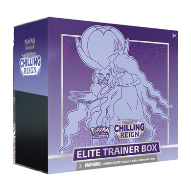 Pokemon Sword & Shield Chilling Reign | Elite Trainer Box | Shadow Rider Calyrex
