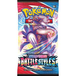 Pokemon - Sword & Shield - Battle Styles - Booster Pack