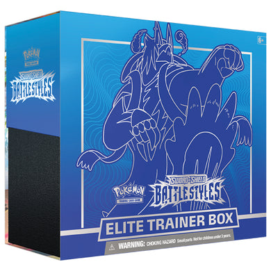 Pokemon - Sword & Shield - Battle Styles - Elite Trainer Box - Urshifu Rapid Strike