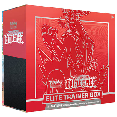 Pokemon - Sword & Shield - Battle Styles - Elite Trainer Box - Urshifu Single Strike