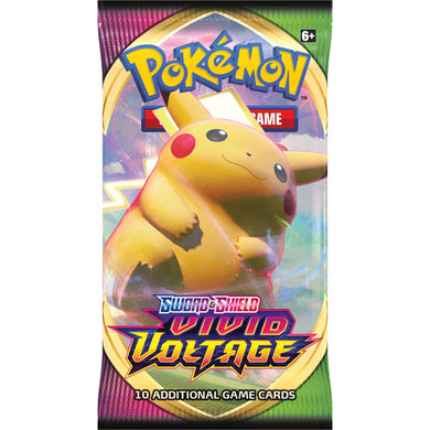 Pokemon Cards, Pokemon Trading Cards, Sword and Shield, Vivid Voltage Booster