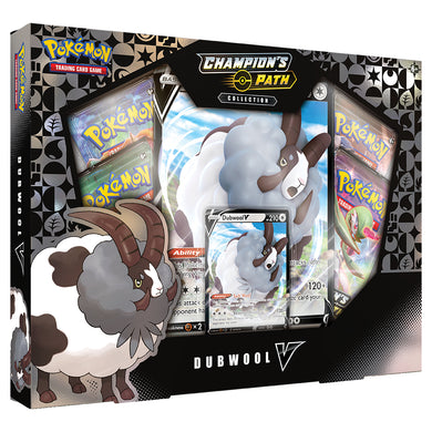 Pokemon Sword and Shield Champion's Path Dubwool V box