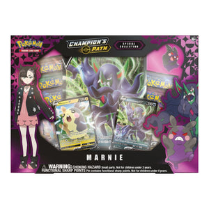 Pokemon Cards, Pokemon Trading Cards, Champions Path, Marnie special collection