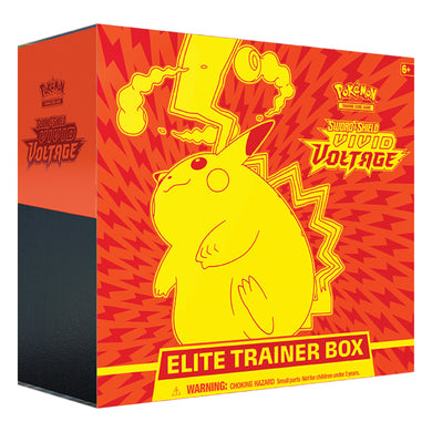 Pokemon - Sword & Shield - Vivid Voltage - Elite Trainer Box