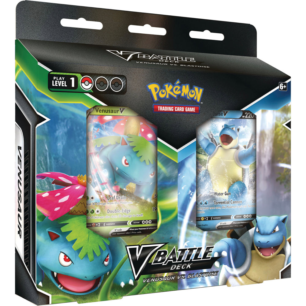 Blastoise V & Venusaur V Battle Deck Bundle