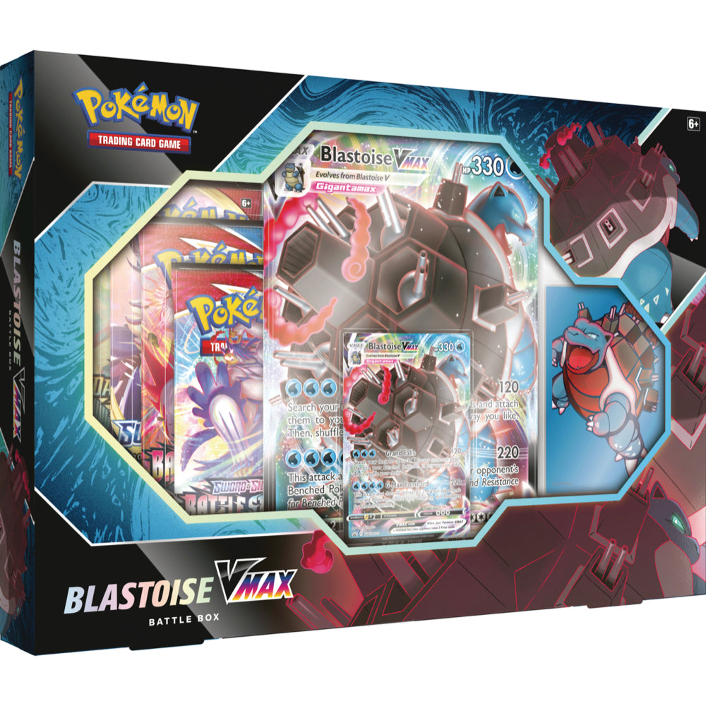 Blastoise VMAX Battle Box