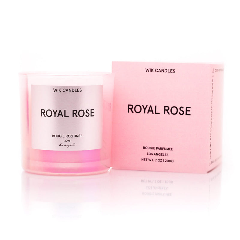 Royal Rose Candle - Wik Candles