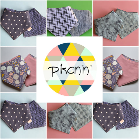 pikanini bib collage