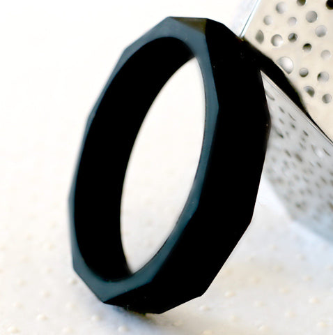 Bubba Chew - Black Geo bangle