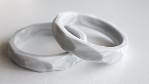 Bubba Chew - Marble Geo bangle
