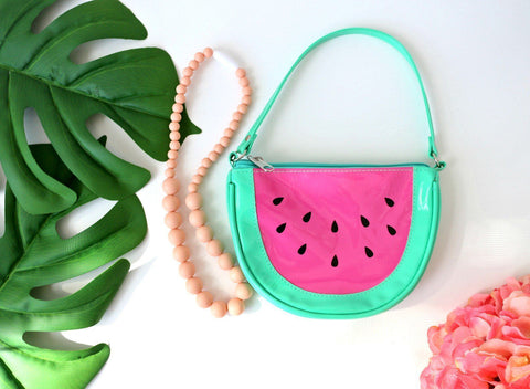 Charmed For Kids ~ Watermelon Purse & Necklace Set