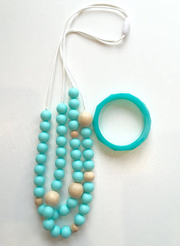 Bubba Chew Seaside Necklace & Bandle Set