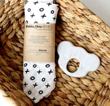 Gift Pack - Muslin Baby Bibs (2 Pack) + Koala Teether