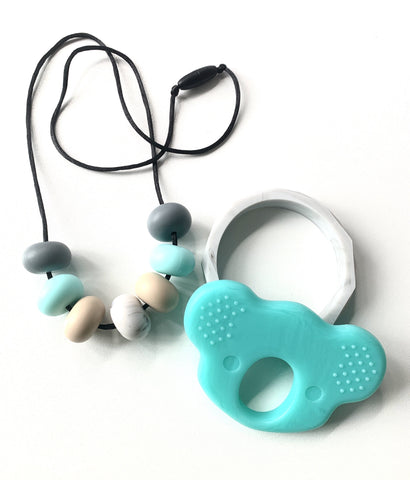 Bubba Chew - Blue Skies Silicone Necklace Set